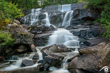 canada québec photographie photography trip travel voyage nikon d800 amérique america nature paysage landscape summer été cascade waterfall parc park, chute aux rats
