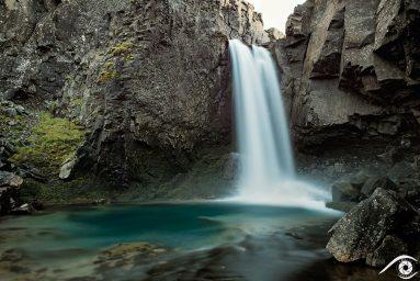 folaldafoss islande iceland photographie photography trip travel voyage nikon d800 europe nature paysage landscape summer été cascade waterfall long exposure, pose longue