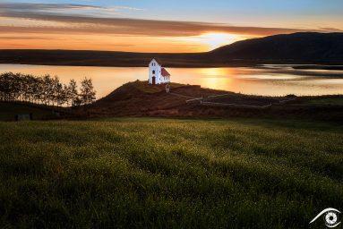 Úlfljótsvatnskirkja église church islande iceland photographie photography trip travel voyage nikon d810 europe nature paysage landscape summer été sunset sunrise crépuscule aurore south sud